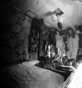 Pinhole image of my prop room